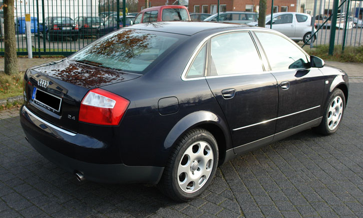 autogas einbau umr stung in bremen audi a4 2 4 baujahr 2002 prins vsi. Black Bedroom Furniture Sets. Home Design Ideas