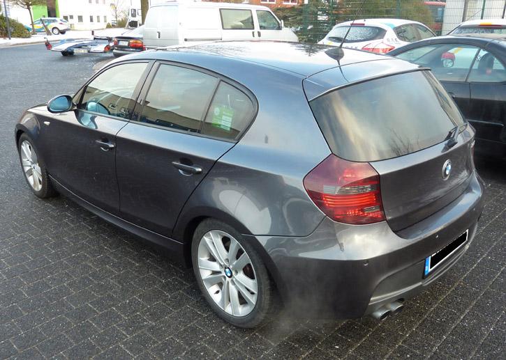Autogas Einbau/Umrüstung in Bremen: BMW e87 130i ...