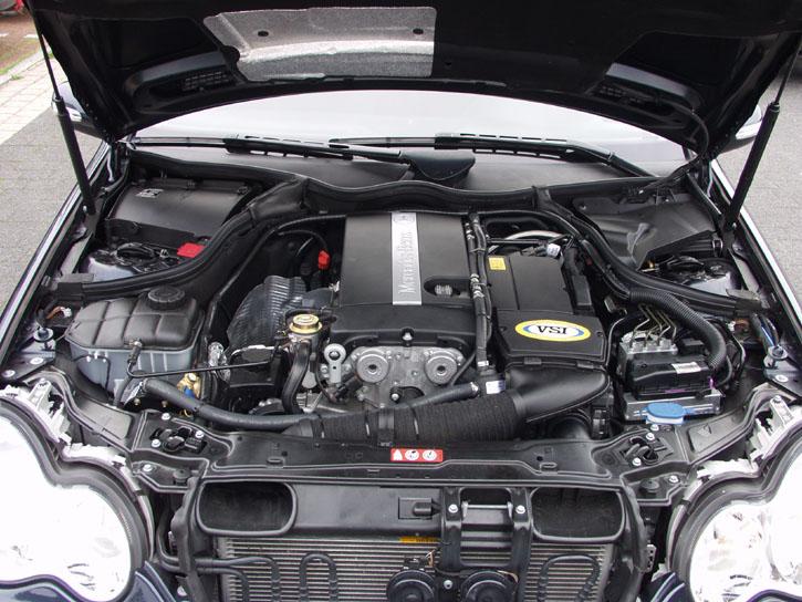 Mercedes W203 Technische Daten
